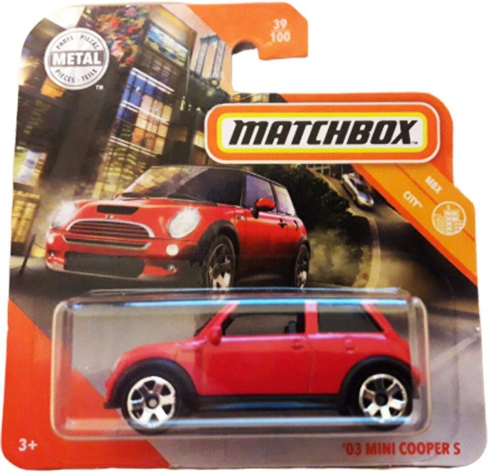 FM Cars Matchbox 03 Mini Cooper S MBX City 39//100