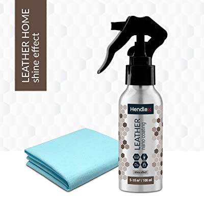 Leather Nano Coating Hendlex | Shoe Boot and Car Leather Seats Treatment Waterproof Protector Restores Color Hydrophobic Water Repellent Spray 100ml: Automotive [5Bkhe0102193]