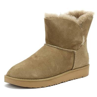 14f0a3943bb UGG® Classic Cuff Mini Damen Stiefel Grün: Amazon.de: Schuhe ...