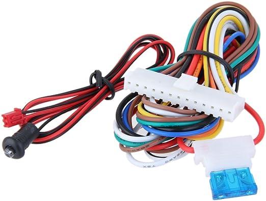 Sharplace Auto Keyless Open Funkfernbedienung Universal Fahrzeug Keyless Entry System Auto