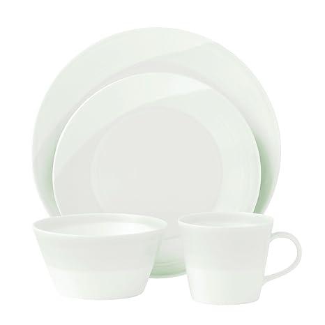 Royal Doulton 1815 4-Piece Dinnerware Set White  sc 1 st  Amazon.com & Royal Doulton 1815 4-Piece Dinnerware Set White