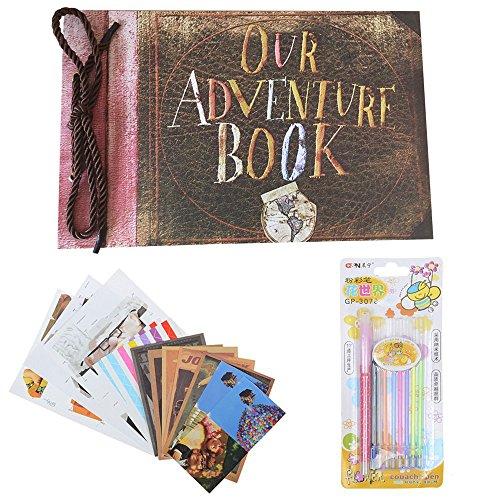 Our Adventure Book Photo Album DIY Scrapbook Album, Retro Album, Wedding Photo Album, Anniversary - Scrapbook Kit Vacation