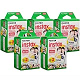 Photo : Fujifilm Instax Mini Instant Film, 10 Sheets of 5 Pack × 2 (100 Sheets) - Unauthorized product