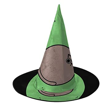 KUKHKU Avocatdo Sombrero de Bruja de Gato Aguacate para ...
