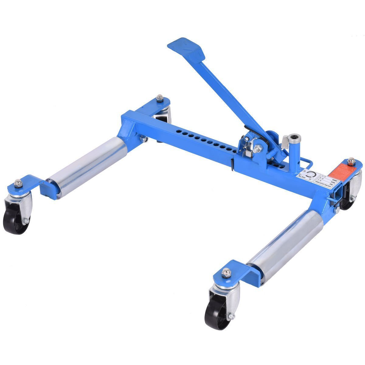 Goplus Wheel Dolly Car Skates Vehicle Positioning Hydraulic Tire Jack, 1250 lb (Blue)