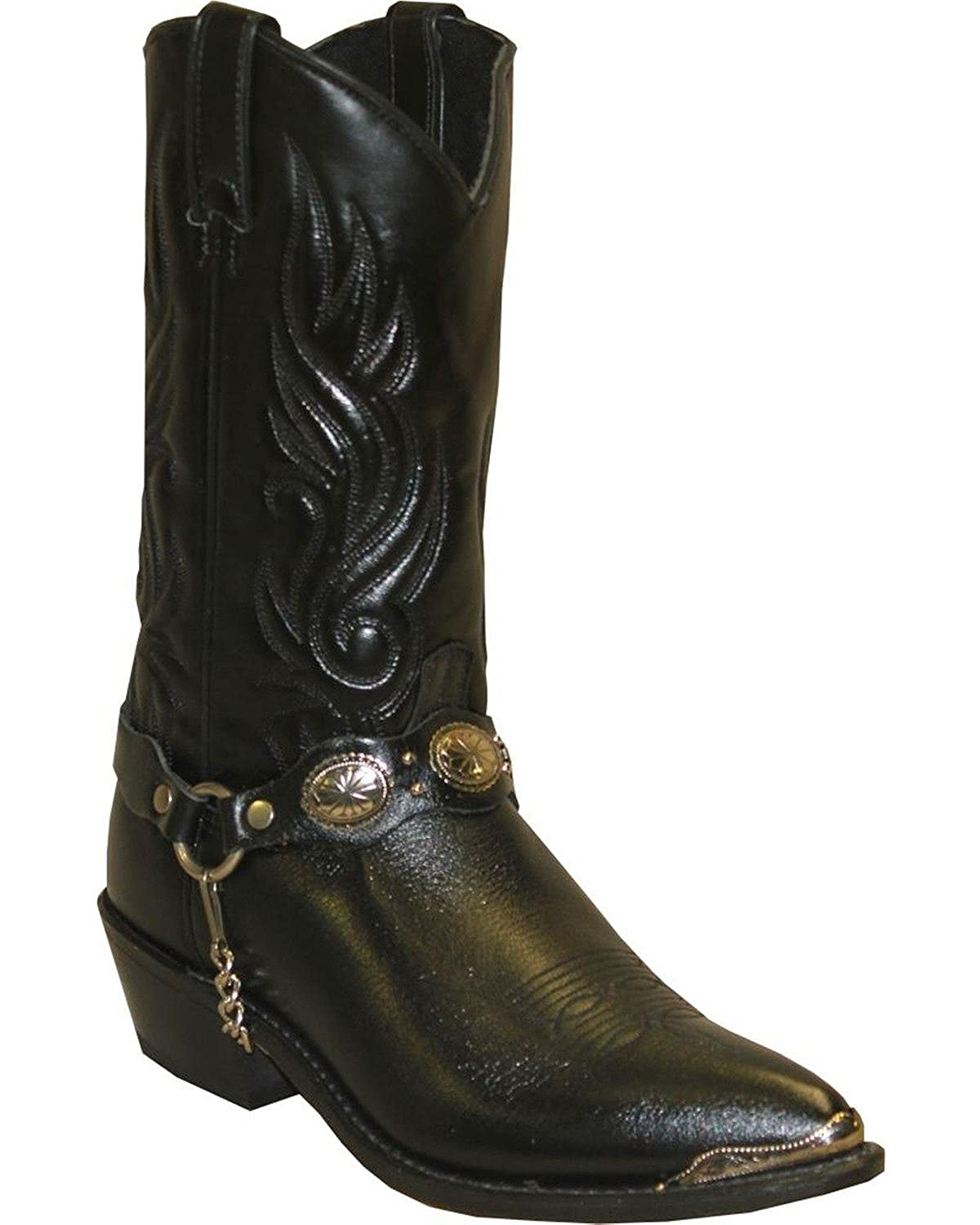 562252b40e8 Abilene Men's Sage by with Concho Strap Western Boot