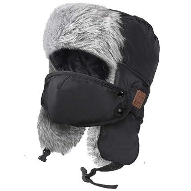 b4622ddd71476 HIGHEVER Bluetooth Winter Trapper Hat