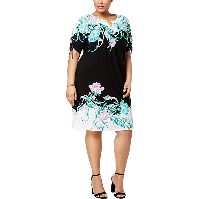 JM Collection Plus Size Embellished Dress
