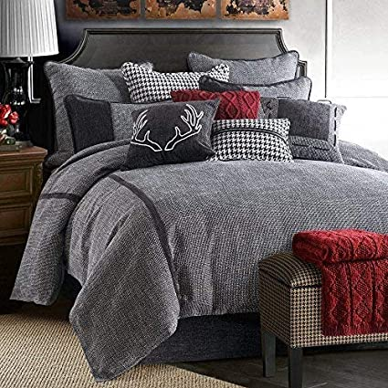 dffb7129ed2 Image Unavailable. Image not available for. Color  Hamilton 4 Piece  Comforter Set by HiEnd Accents