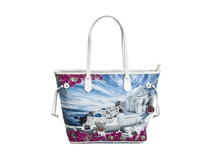 online retailer 026f7 3a96f BORSA YNOT LARGE SHOPPING BAG J-356 WHITE: Amazon.it ...