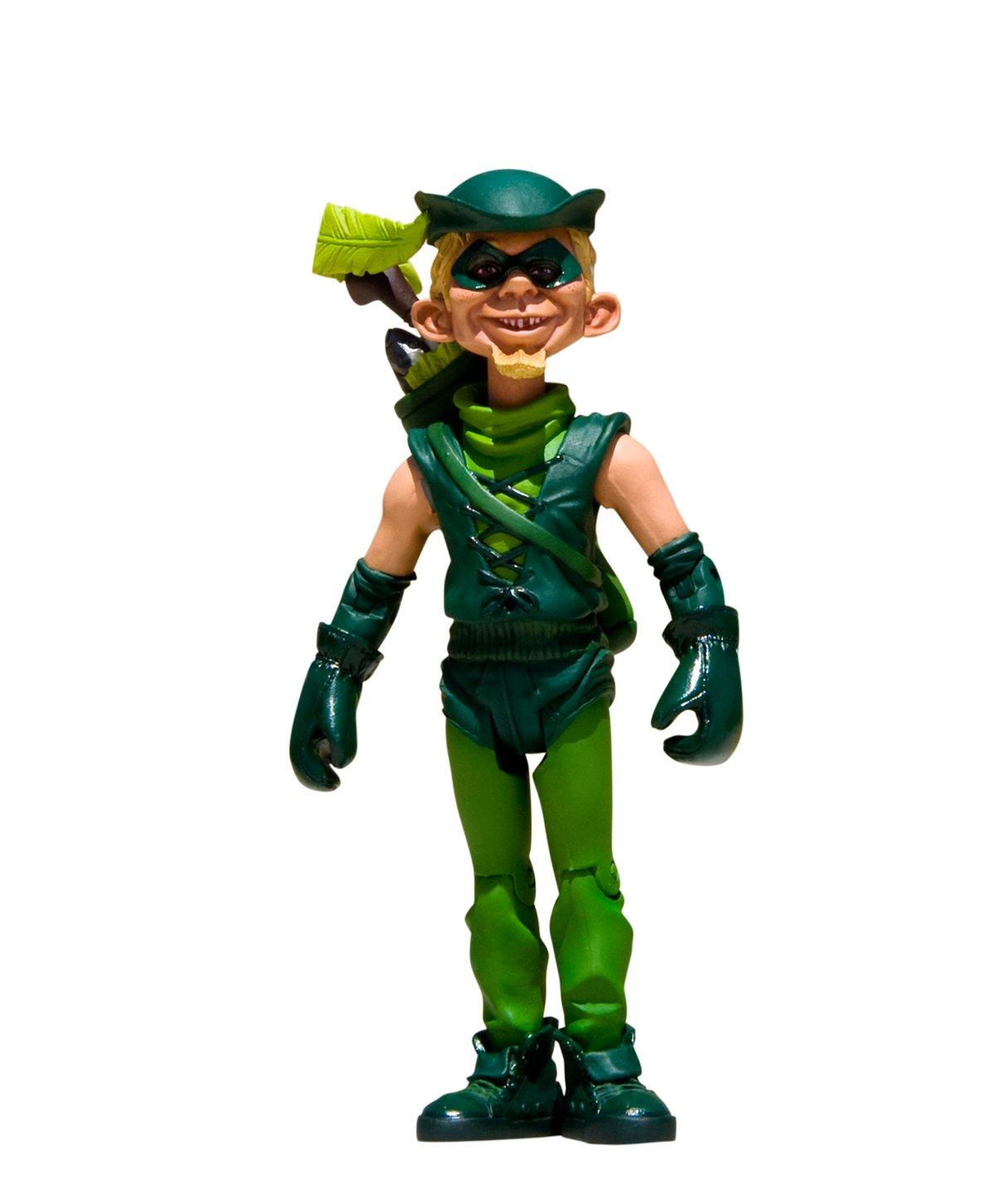 promociones emocionantes Mad Just Us Us Us League Heroes Stupid Green Arrow figura de acción  exclusivo