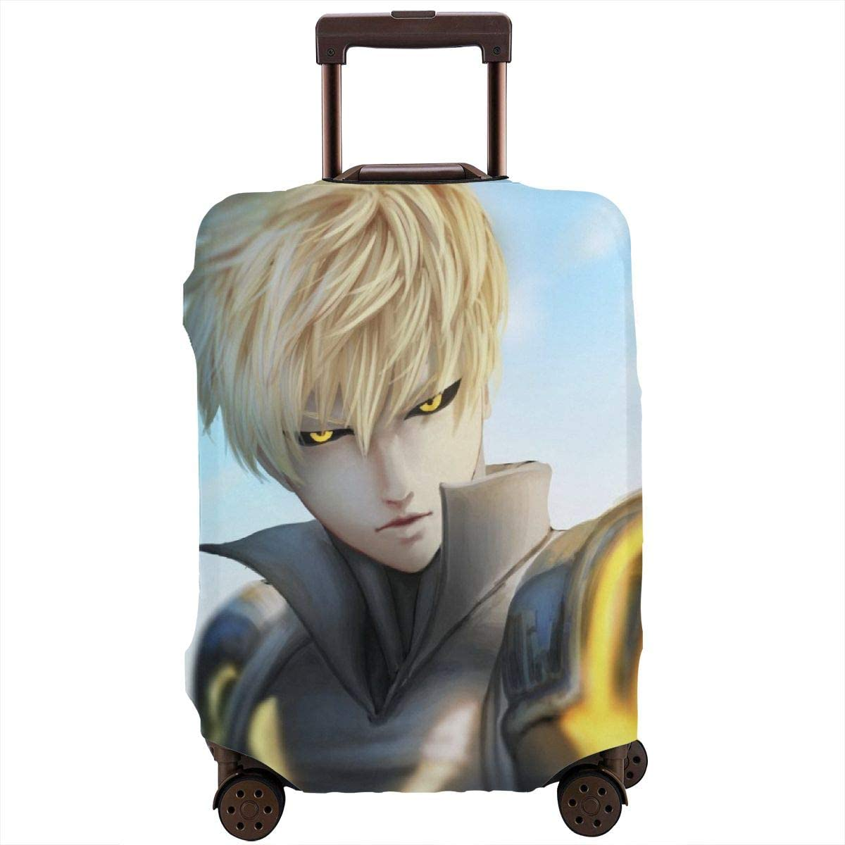 One Punch Man Suitcase Protector Travel Luggage Cover Fit