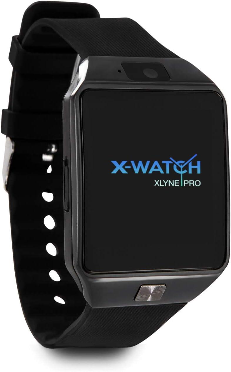 X-WATCH 54024 x30 W Smartwatch con Tarjeta SIM Negro: Amazon.es ...