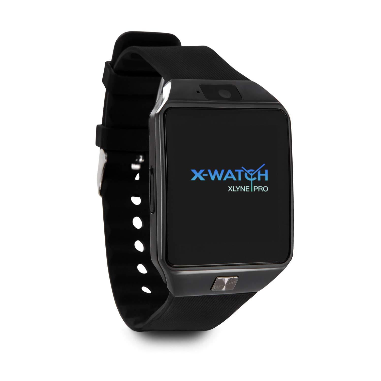 X-WATCH 54024 x30 W Smartwatch con Tarjeta SIM Negro