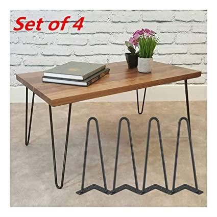 Superb Amazon Com 8 12 16 28 Hairpin Coffee Table Legs Diy Caraccident5 Cool Chair Designs And Ideas Caraccident5Info