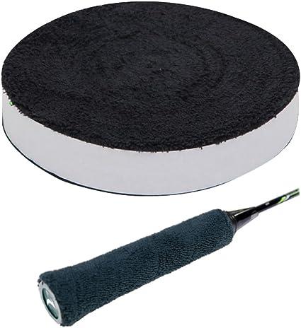 4 x Rolls Self Adhesive TOWELLING GRIP Badminton Tennis Squash 5 grips per roll