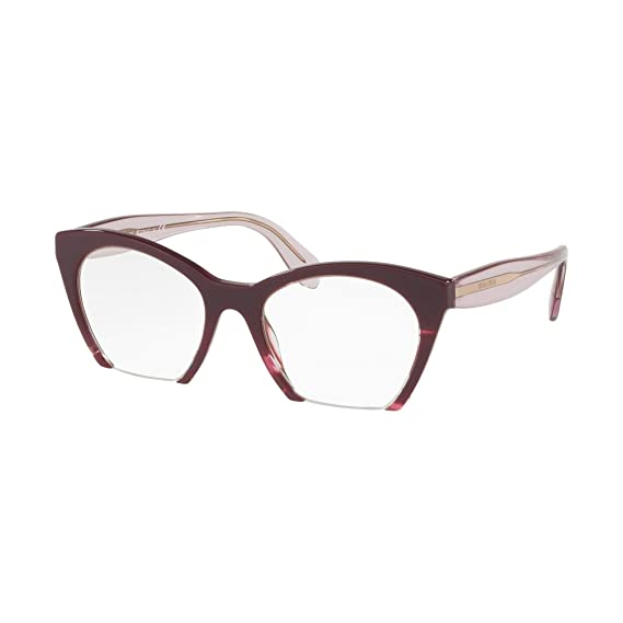 951fa5f8d17 Miu Miu RASOIR EVOLUTION VMU03Q VIOLET women Eyewear Frames  Amazon.co.uk   Clothing