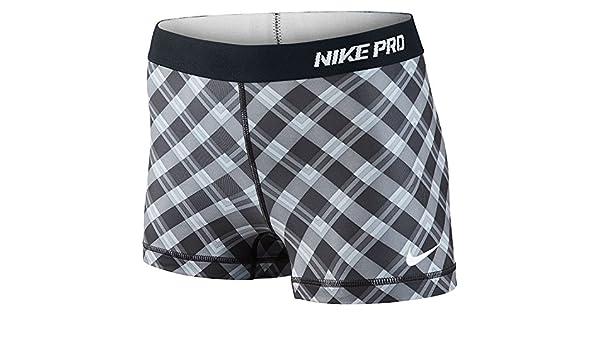 409b3170266f Amazon.com  Nike Women s Pro 2.5 Inch Short 2 Part - Large - Black Cool Grey White   Sports   Outdoors