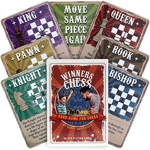 Winners Chess Cards Set for Kids - 56 Teaching Cards