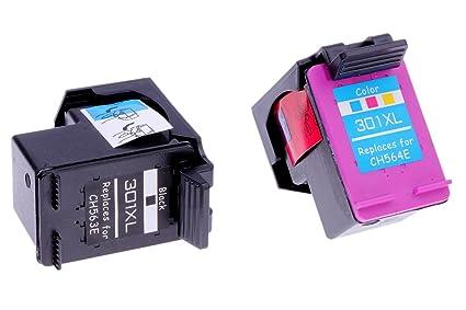 1 x cartucho de tinta HP 301 X L Negro (CH563EE/CH563E) 1 x ...