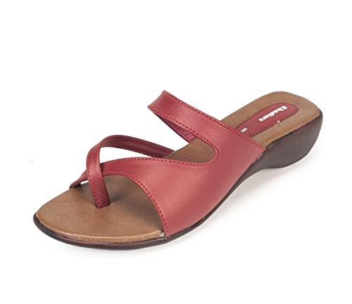 8f3504735347 Khadims Womens Faux Leather Wedges available at Amazon for Rs.379