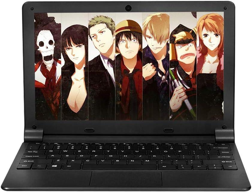HSW 11.6'' HD Windows 10 Ultra Thin Laptop - 2GB RAM 32GB Storage, Intel Quad Core 1.44Ghz USB 3.0, WiFi, BT, Supports 128GB tf-Card Notebook (Black)