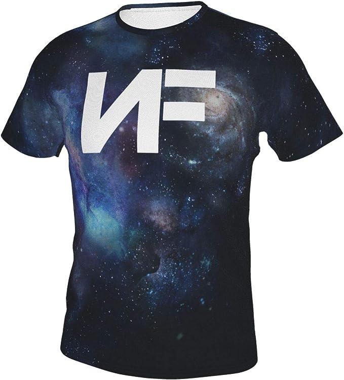 Nf Rapper Logo Shirts Mens Fashion Crew Neck Short Sleeve ...