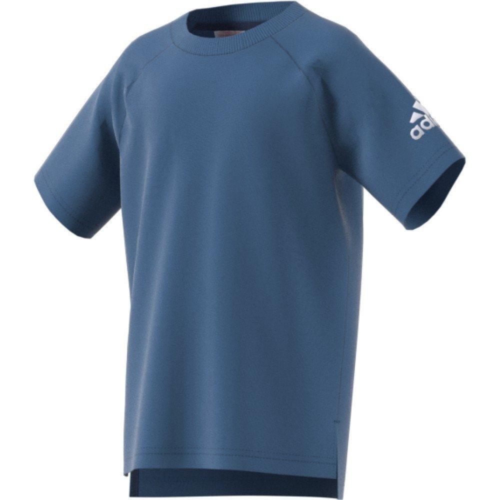 adidas Little Boys Logo Cotton Kids Sports T-Shirt Tee