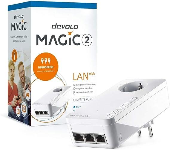 Devolo Magic 2 Lan Triple Single Powerline Computer Zubehör