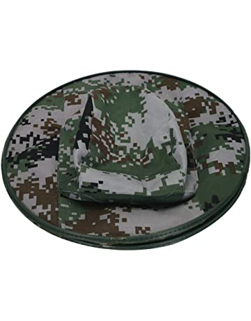 Butterme Camouflage Beekeeper Anti Mosquito Insert Fishing Hat Bee Bug  Insect Fly Mask Cap with Head f438412391b2
