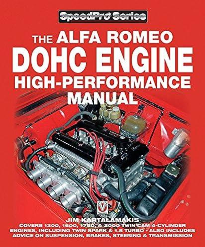 alfa romeo dohc engine high performance manual speedpro series rh amazon com