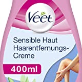 Veet Sensitive Enthaarungscreme, 400 ml