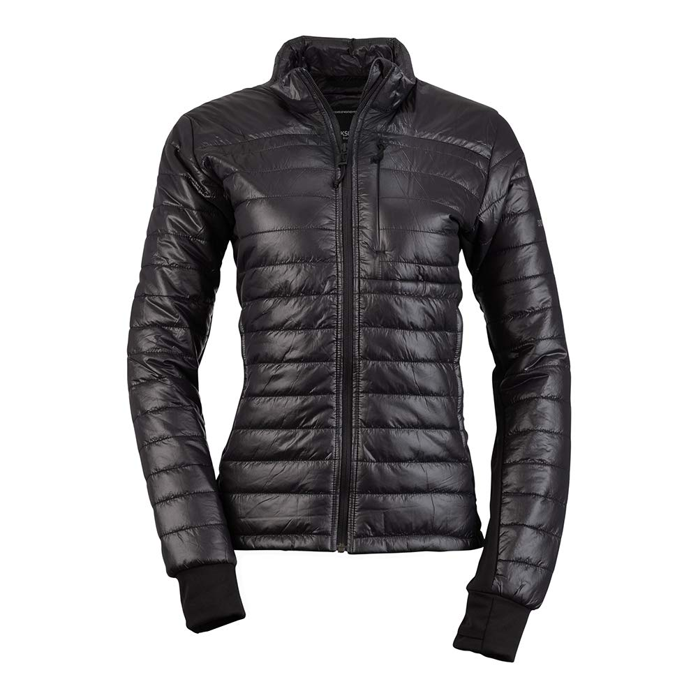 Steppjacke Didriksons Campo Womens Lightweight Padded Jacket Farbe:Black Gr/ö/ße/_Bekleidung/_NR:36
