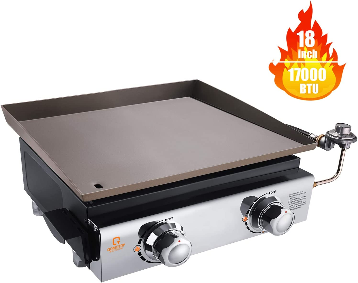 Best to clean up: QOMOTOP Tabletop Grill
