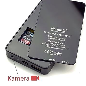 Nano Trix base de cámara HD V2,0 2015 con sensor de movimiento - mini