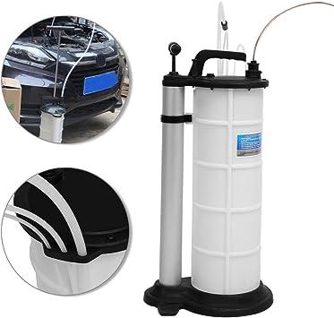 SOULONG Bomba de vaciado de aceite manual 9 l bomba de extracción de aceite líquido para coche, motor camión barco: Amazon.es: Coche y moto