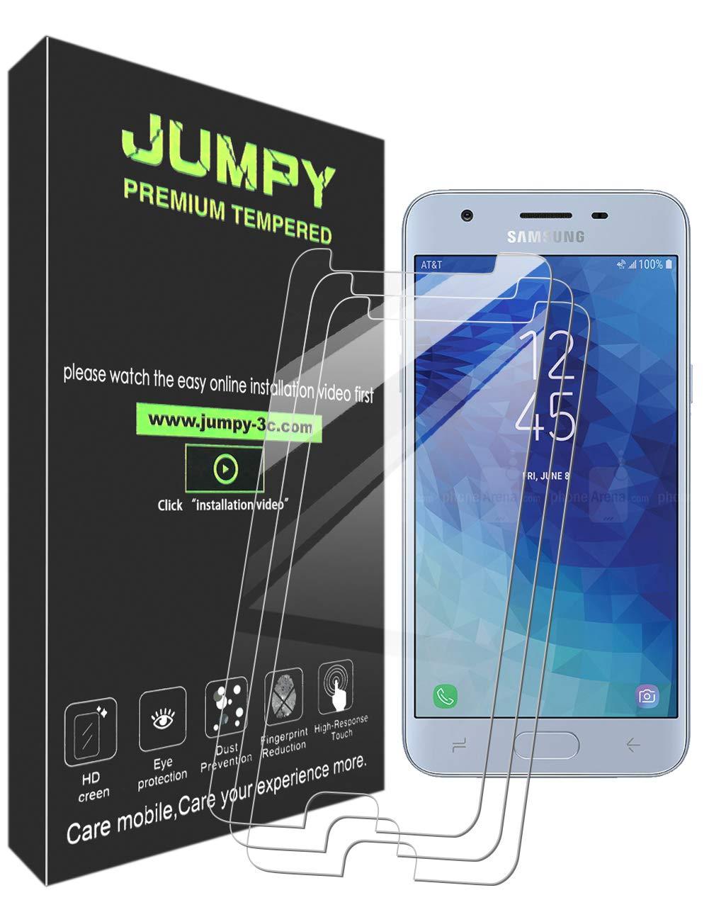 Vidrio templado para Samsung J3 (2018) [3un] JUMPY (7D378LRX