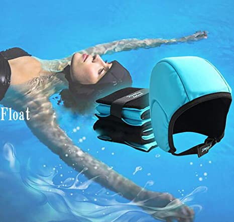 REEP Flotador Gorra de natación Casco Flotante Durmiendo en el Agua Salvavidas Aprendiendo a Nadar -