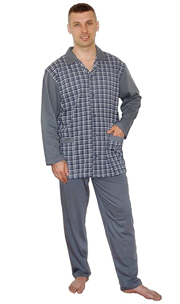 BigSize Pijamas para Hombres Pijamas 100% Algodón Ropa de Noche Tallas Grandes 3XL 4XL 5XL 6XL: Amazon.es: Ropa y accesorios