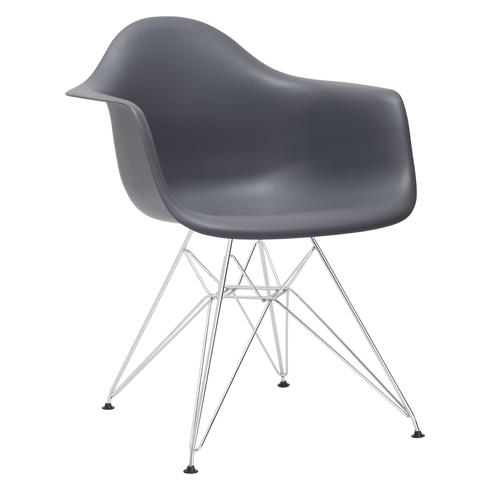 Poly and Bark Padget Arm Chair in Grey