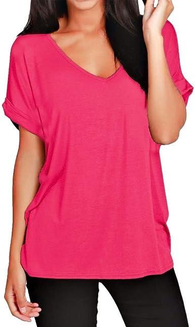 New Ladies Women/'s Batwing Top Women Plain Tunic Top Plus sizes Baggy Oversized