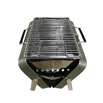 Parrilla portátil de Metal para Barbacoa, Picnic, Camping, jardín,