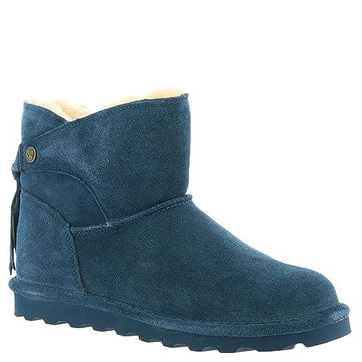 Women's Natalia Boots Blue Suede Rubber 7 M