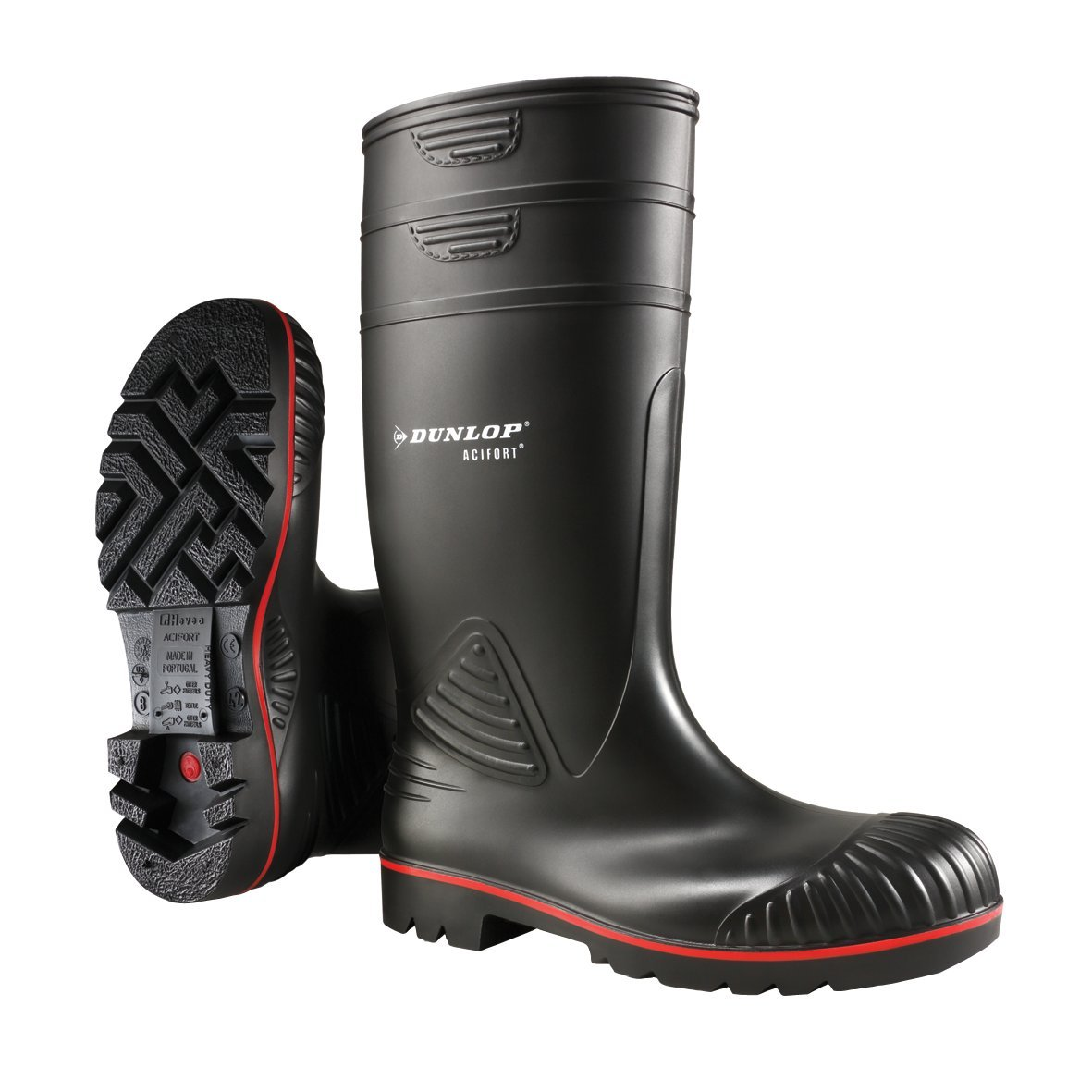 Dunlop A442031 Noir S5 ACIF. KNIE, Bottes Mixte en S5 Caoutchouc de Hauteur Moyenne, Non Doublées Mixte Adulte Noir 3657edf - epictionpvp.space