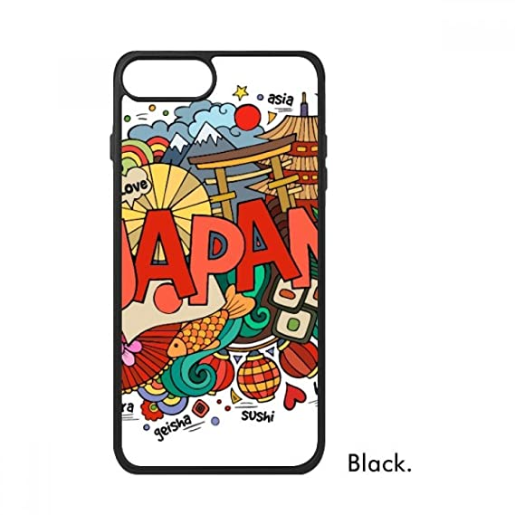 I Love Japan Asia Culture Colorful For iPhone 8/8 Plus Cases Phonecase  Apple Cover