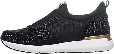 NeroGiardini A806591D Sneaker Mujer De Ante Y Tejido Técnico
