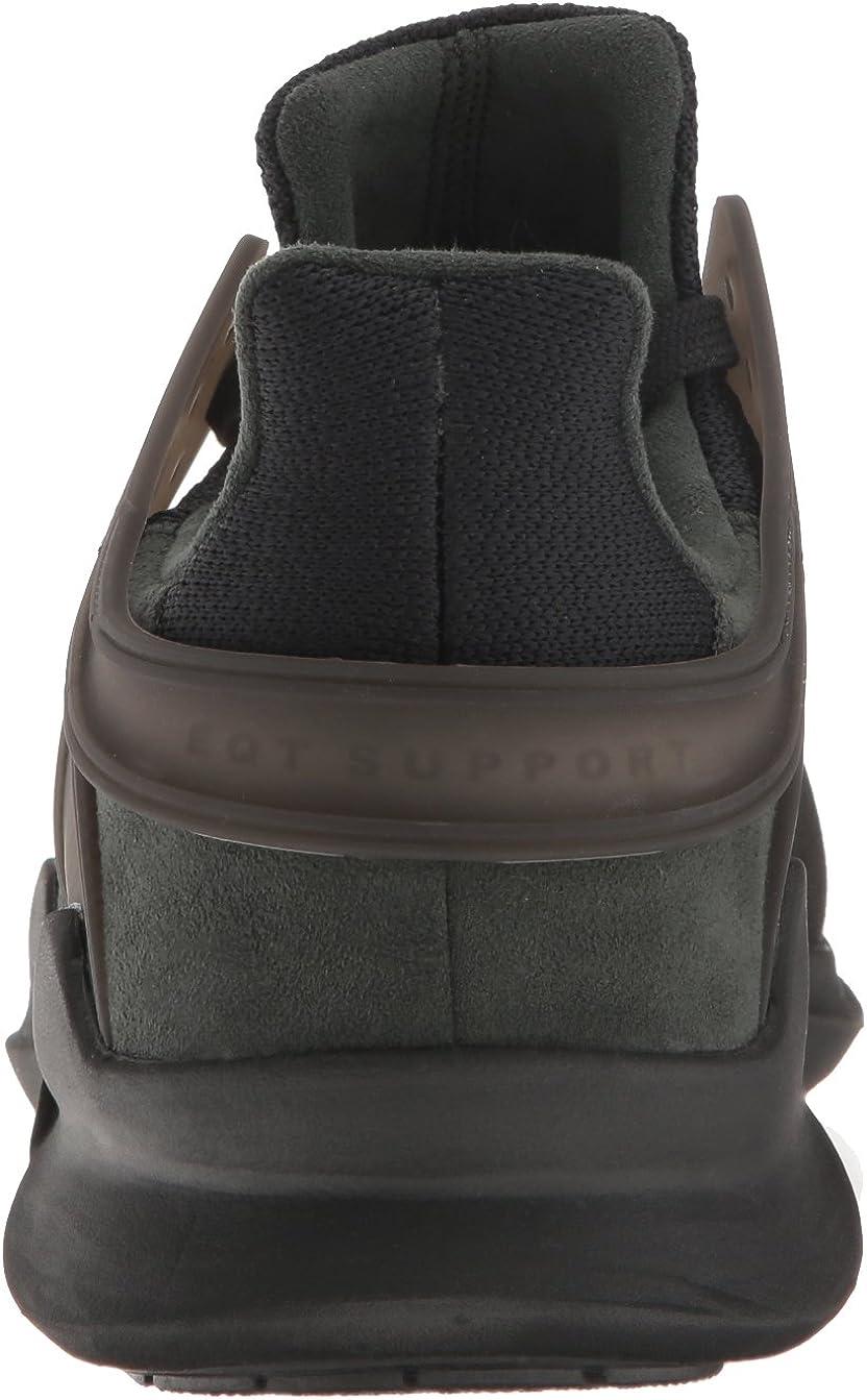 adidas Originals Herren EQT Support ADV Fashion, Schwarz/Grau Schwarz Schwarz Turbo