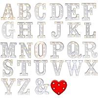 Letras Led Letras Luminosas Decorativas Letras Alphabet Light