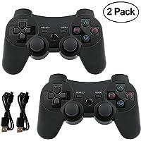 Mando PS3 inalámbrico Bluetooth Gamepad Doble vibración Six-Axis