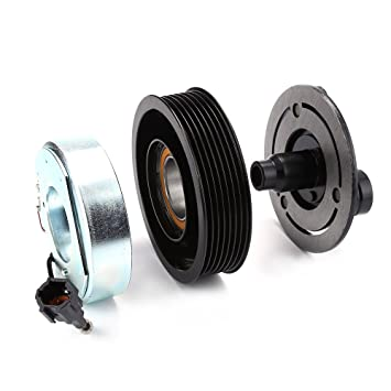 AC Compresor embrague Kits Polea rodamientos placa de bobina para 07 - 11 Nissan Versa: Amazon.es: Bricolaje y herramientas